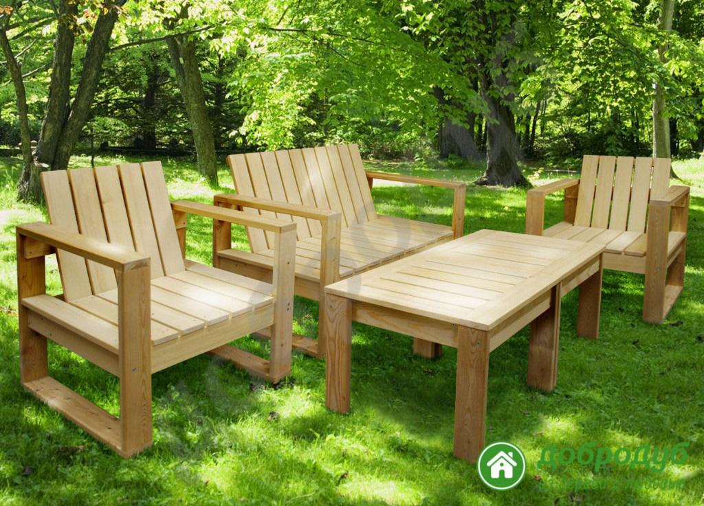 Садовая мебель своим и руками 683