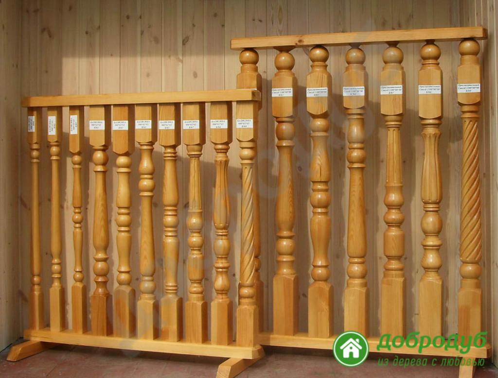 Деревянные лестницы комплектующие