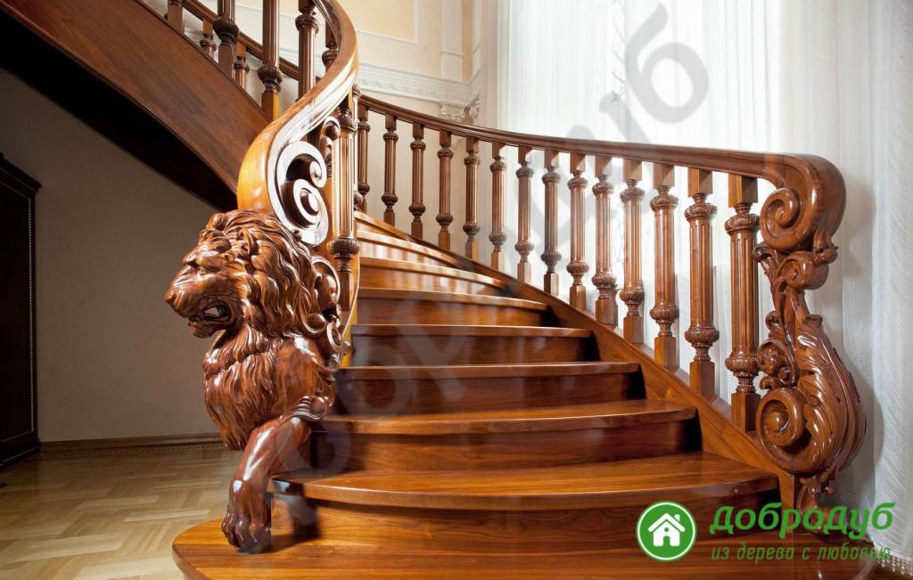 Перила, балясины, ступени для лестниц