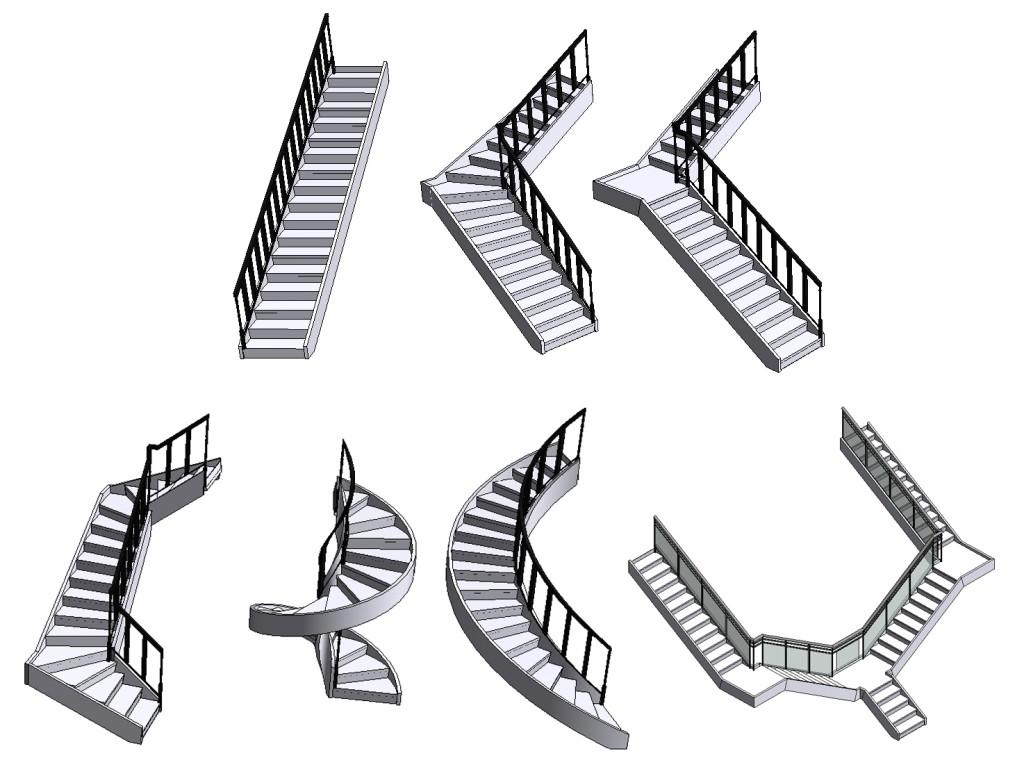 какие бывают лестницы на второй этаж