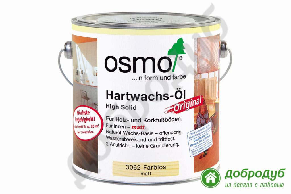 Масло OSMO для обработки деревянных лестниц