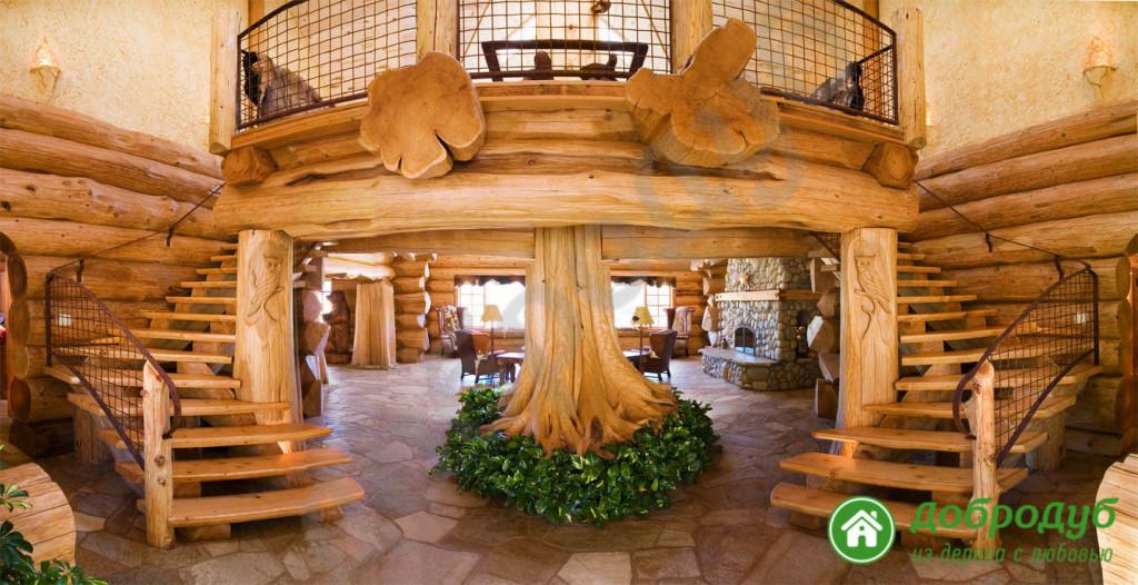 Обработка деревянных лестниц
