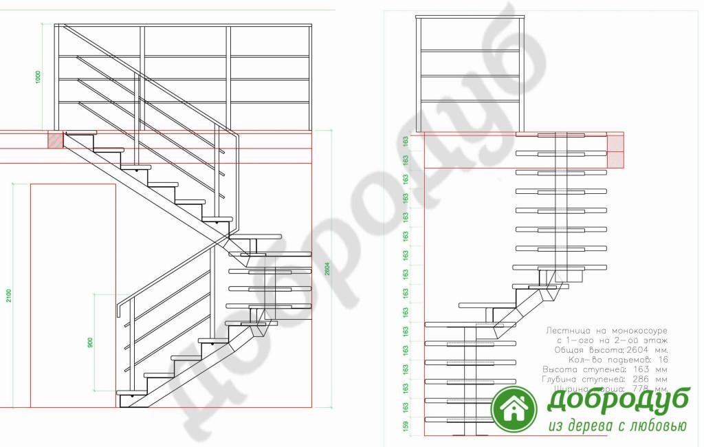 Как правильно рассчитать лестницу