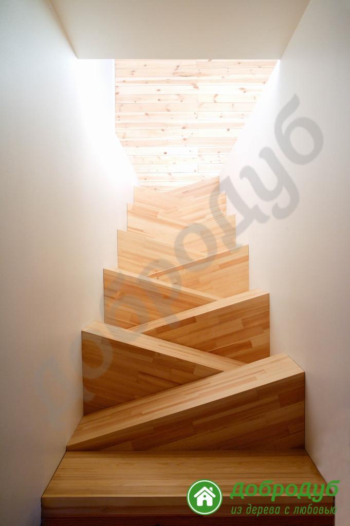Рассчитать ширину ступеней лестницы