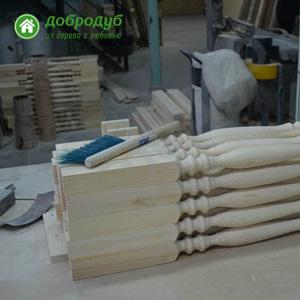Изготовление лестниц из дерева на второй этаж